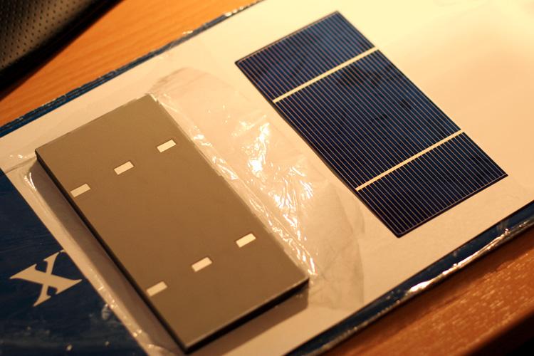 Fotovoltaický článek 156 x 71 mm